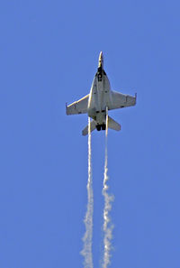 166675 @ KBJC - F-18, No stopping her now - by John Little