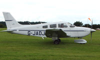 G-JADJ @ EGTB - Visitor  during  AeroExpo 2008 at Wycombe Air Park , Booker , United Kingdom
