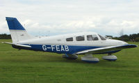 G-FEAB @ EGTB - Visitor  during  AeroExpo 2008 at Wycombe Air Park , Booker , United Kingdom