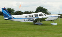 G-DIGI @ EGTB - Visitor  during  AeroExpo 2008 at Wycombe Air Park , Booker , United Kingdom