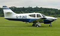 G-PJNZ @ EGTB - Visitor  during  AeroExpo 2008 at Wycombe Air Park , Booker , United Kingdom