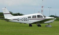 G-CGDJ @ EGTB - Visitor  during  AeroExpo 2008 at Wycombe Air Park , Booker , United Kingdom