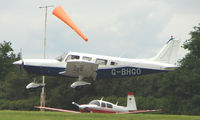 G-BHGO @ EGTB - Visitor  during  AeroExpo 2008 at Wycombe Air Park , Booker , United Kingdom
