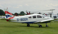 G-BODR @ EGTB - Resident aircraft parked  during  AeroExpo 2008 at Wycombe Air Park , Booker , United Kingdom