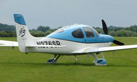 N376SR @ EGTB - Visitor  during  AeroExpo 2008 at Wycombe Air Park , Booker , United Kingdom