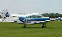 G-CBCY @ EGTB - Visitor  during  AeroExpo 2008 at Wycombe Air Park , Booker , United Kingdom