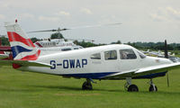 G-OWAP @ EGTB - Resident aircraft parked  during  AeroExpo 2008 at Wycombe Air Park , Booker , United Kingdom