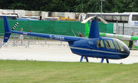 G-ORBK @ EGTB - Resident aircraft parked  during  AeroExpo 2008 at Wycombe Air Park , Booker , United Kingdom