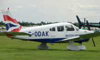 G-ODAK @ EGTB - Resident aircraft parked  during  AeroExpo 2008 at Wycombe Air Park , Booker , United Kingdom