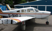 G-BHFJ @ EGTB - Resident aircraft parked  during  AeroExpo 2008 at Wycombe Air Park , Booker , United Kingdom