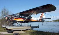 N1364H @ LHD - 1949 Aeronca 15AC at Lake Hood - by Terry Fletcher