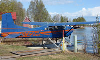 N7336H @ LHD - Cessna 185 at Lake Hood - by Terry Fletcher