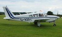 G-AZFI @ EGTB - Visitor  during  AeroExpo 2008 at Wycombe Air Park , Booker , United Kingdom