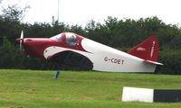 G-CDET @ EGTB - 1940 Culver Cadet at Wycombe Air Park