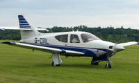 G-CRIL @ EGTB - Visitor  during  AeroExpo 2008 at Wycombe Air Park , Booker , United Kingdom