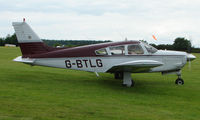 G-BTLG @ EGTB - Visitor  during  AeroExpo 2008 at Wycombe Air Park , Booker , United Kingdom