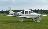 N663CD @ EGTB - Visitor  during  AeroExpo 2008 at Wycombe Air Park , Booker , United Kingdom