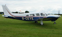 G-CEYE @ EGTB - Visitor  during  AeroExpo 2008 at Wycombe Air Park , Booker , United Kingdom