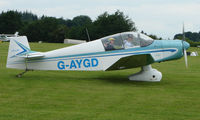G-AYGD @ EGTB - Visitor  during  AeroExpo 2008 at Wycombe Air Park , Booker , United Kingdom