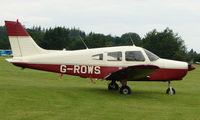 G-ROWS @ EGTB - Visitor  during  AeroExpo 2008 at Wycombe Air Park , Booker , United Kingdom