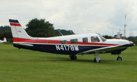 N4178W @ EGTB - Visitor  during  AeroExpo 2008 at Wycombe Air Park , Booker , United Kingdom