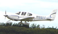 N100YY @ EGTB - Visitor  during  AeroExpo 2008 at Wycombe Air Park , Booker , United Kingdom