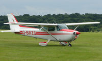 G-BRZS @ EGTB - Visitor  during  AeroExpo 2008 at Wycombe Air Park , Booker , United Kingdom