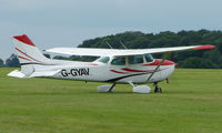 G-GYAV @ EGTB - Visitor  during  AeroExpo 2008 at Wycombe Air Park , Booker , United Kingdom