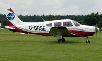 G-BRSE @ EGTB - Visitor  during  AeroExpo 2008 at Wycombe Air Park , Booker , United Kingdom