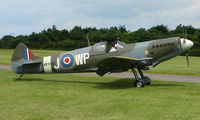 G-CCZP @ EGTB - This Spitfire MK26 also waers Serial JF343 and was a visitor to Wycombe Air Park