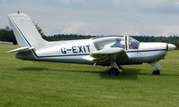 G-EXIT @ EGTB - Visitor  during  AeroExpo 2008 at Wycombe Air Park , Booker , United Kingdom