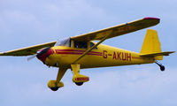 G-AKUH @ EGTB - 1946 Luscombe 8E - Visitor  during  AeroExpo 2008 at Wycombe Air Park , Booker , United Kingdom