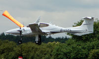 G-ITFL @ EGTB - Visitor  during  AeroExpo 2008 at Wycombe Air Park , Booker , United Kingdom