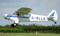 G-BLLN @ EGTB - 1954 Piper Cub - Visitor  during  AeroExpo 2008 at Wycombe Air Park , Booker , United Kingdom