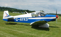 G-AYKD @ EGTB - Visitor  during  AeroExpo 2008 at Wycombe Air Park , Booker , United Kingdom