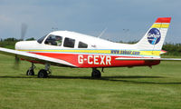 G-CEXR @ EGTB - Visitor  during  AeroExpo 2008 at Wycombe Air Park , Booker , United Kingdom