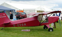 G-ESGA @ EGTB - Visitor  during  AeroExpo 2008 at Wycombe Air Park , Booker , United Kingdom