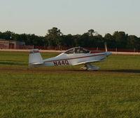 N44Q @ LAL - Bushby Mustang II