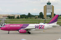HA-LPD @ LHBP - Wizzair