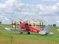 G-ACDI @ EGWN - Tiger Moth - by Simon Palmer