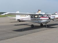 N1273Y @ MRT - 160 HP Cessna 150 on the ramp at Marysville, OH - by Bob Simmermon