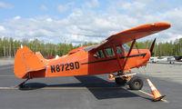 N8729D @ IYS - 1958 Piper Pa-22-160 at Wasilla AK - by Terry Fletcher