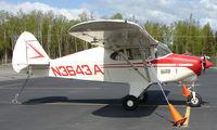 N3643A @ IYS - 1953 Piper PA-22-135 - by Terry Fletcher