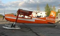 N332DG @ TKA - Cessna 185 at Talkeetna