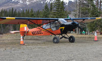 N8560C @ TTW - 1953 Piper Pa-18 of Atkins Flying Services of Cantwell AK