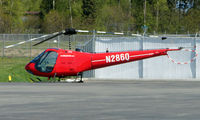 N286Q @ ANC - Enstrom F-28A on Anchorage South ramps