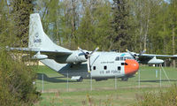 N4393E - This Fairchild C-123 sits in the grounds of Kulis National Guard Base wearing its serial (5)64395