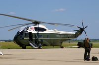 159358 @ CID - One of two VH-3Ds for Presidential movement - by Glenn E. Chatfield