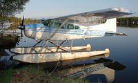 N1253Q @ LHD - Cessna 185 at Lake Hood - by Terry Fletcher