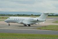 G-UYGB @ EGCC - Bombardier BD-100 - by David Burrell